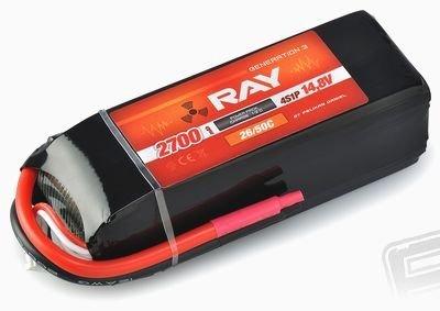 AKUMULATOR LI-PO RAY G3 14,8V 2700MAH 26/50C