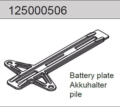 Battery plate Mad Rat