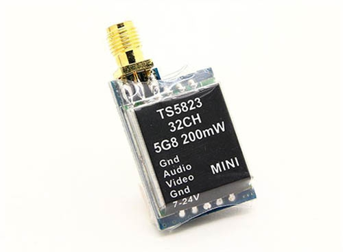 Nadajnik Micro Boscam TS5823 200mw 32CH 5.8ghz