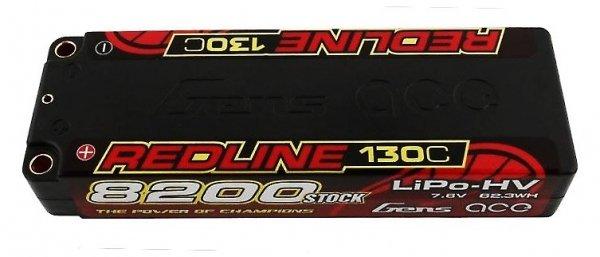 "Akumulator LiPo Gens Ace 8200mAh 7.6V HV 130C ""Redline"" Gens Ace"
