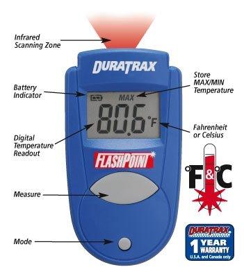 DURATRAX - Mini termometr na podczerwień