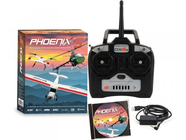 Phoenix RC Pro V5.0 symulator + DX4e Mode 1