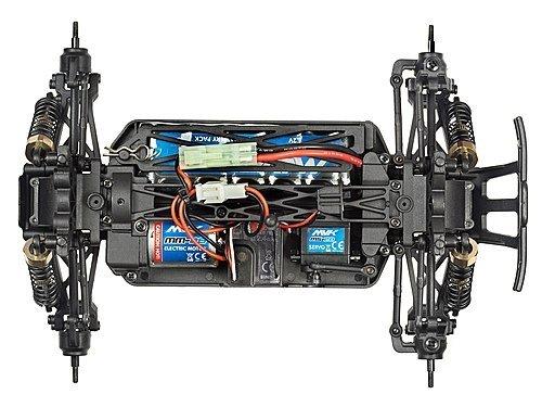 NOWOŚĆ MAVERICK ION RX 1/18 RTR ELECTRIC RALLY CAR BZEZSZCZOTKOWY 2,4 GHZ 4450 KV FLYSKY