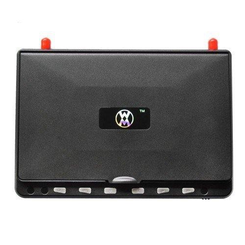 "Monitor FPV HD02 (5.8GHz, 40CH, 600p, 7"", 7.4V/2000mAh)"