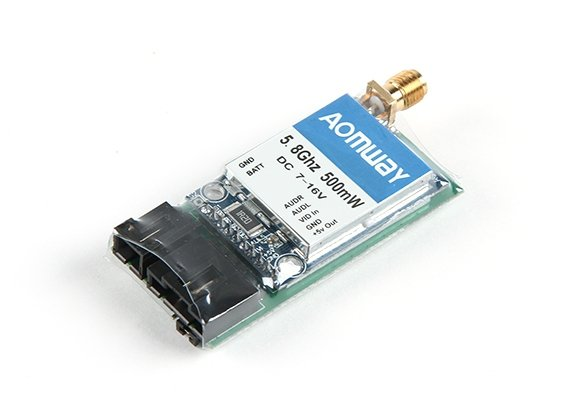 Nadajnik Aomway 5.8G 500mW Video Transmitter
