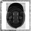 BUSE ROCC Kask otwarty Classic czarny matowy