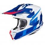 HJC KASK OFF-ROAD I50 ARGOS WHITE/BLUE