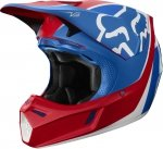 KASK OFF ROAD FOX V-3 KILA BLUE/RED