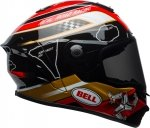 BELL STAR M ISLE OF MAN BLACK/GOLD Kask integralny