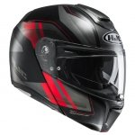 KASK SYSTEMOWY HJC R-PHA-90 TANISK BLACK/RED