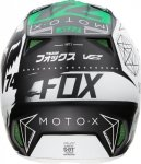 KASK FOX V-2 UNION PRO CIRCUIT WHITE/BLACK/GREEN