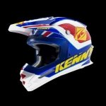 KENNY KASK TRACK BLUE/YELLOW/RED