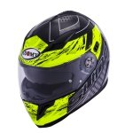 Kask SUOMY HALO Drift Yellow -integralny z blendą