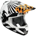 THOR KASK VERGE DAZZ S7 OFFROAD FLO ORANGE/WHITE=$