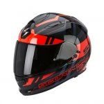 KASK SCORPION EXO-510 AIR STAGE BLACK-RED