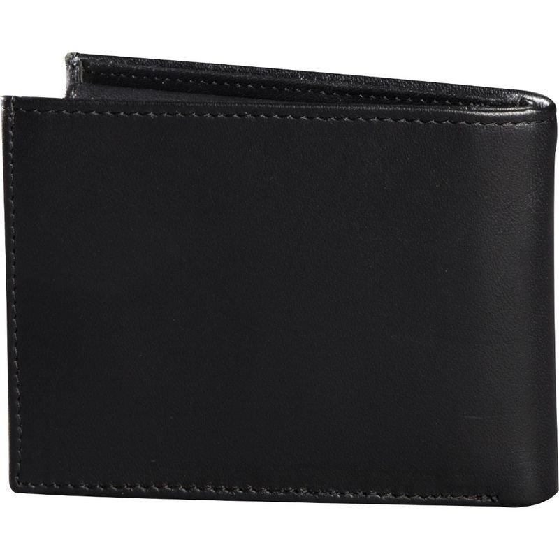 54c6954a60443 PORTFEL FOX BIFOLD LEATHER BLACK - Akcesoria odzieżowe - Buty i odzież