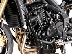 CRASHBAR/GMOL SW-MOTECH TRIUMPH TRIPLE 675 BLACK