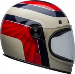 BELL KASK BULLITT CARBON HUSTLE RED/SAND/CAN BLUE