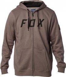 FOX DISTRICT 2 GREY Bluza z kapturem na zamek