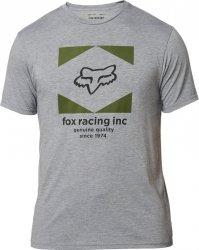 FOX T-SHIRT  STUDIO TECH HEATHER GRAPHITE