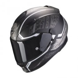 SCORPION KASK INTEG EXO-510 AIR OCCULTA MATT BK-SI