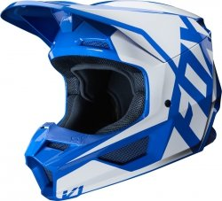 FOX KASK OFF-ROAD V-1 PRIX BLUE