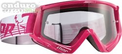 Gogle THOR CONQUER PINK / WHITE