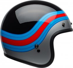 BELL KASK OTWARTY CUSTOM 500 DLX PULSE BL/BLUE/RED