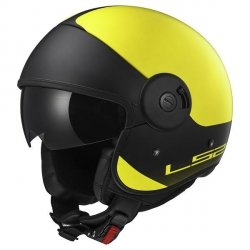 KASK LS2 OF597 CABRIO VIA H-V YELLOW