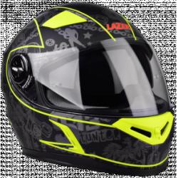Kask motocyklowy LAZER BAYAMO czarny/żółty/fluo/mat