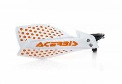 Acerbis Handbary X-Ultimate biało - pomarańczowy