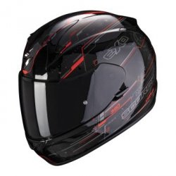 SCORPION KASK INTEGRALNY EXO-390 BEAT BLACK-NEON R