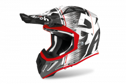AIROH KASK OFF-ROAD AVIATOR ACE KYBON RED GLOSS