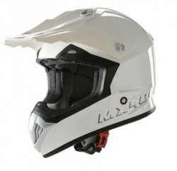 ASTONE KASK MX400DR MONO COLOR WHITE GLOSS