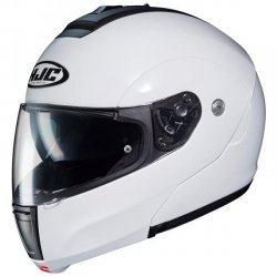 HJC C90 KASK SYSTEMOWY PEARL WHITE