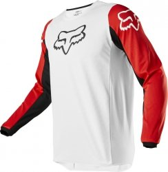 FOX BLUZA OFF-ROAD 180 PRIX WHITE/BLACK/RED