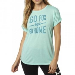 FOX INVARIABLE CREW RL SLVE H2O T-SHIRT LADY