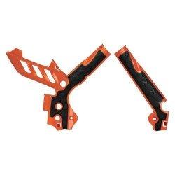 Acerbis Osłony ramy X-Grip KTM  pomarańczowy
