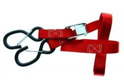 Acerbis pasy do mocowania motocykla 25MM czerwony