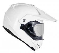 KASK OZONE CROSS MXT-01 PINLOCK READY WHITE