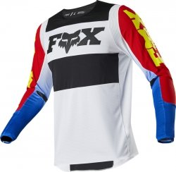 FOX BLUZA OFF-ROAD 360 LINC BLUE/RED