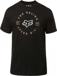 FOX T-SHIRT CLOCKED OUT BLACK