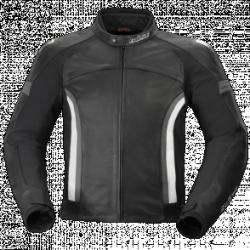 BUSE Kurtka motocyklowa  Dervio czarno-szara