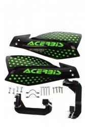 Acerbis Handbary X-Ultimate czarno - zielony