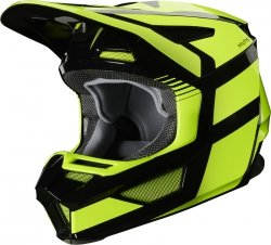 FOX KASK OFF-ROAD  V-2 HAYL FLO YELLOW
