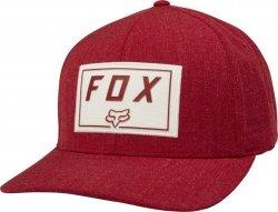 FOX CZAPKA Z DASZKIEM  TRACE FLEXFIT CARDINAL