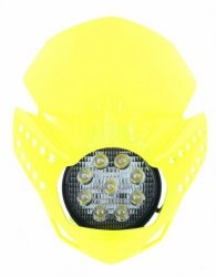 Acerbis Lampa reflektor przód LED Fulmine zółty