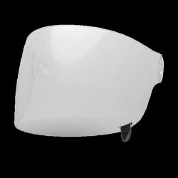 SZYBA BELL BULLITT FLAT CLEAR (CZARNY PASEK)