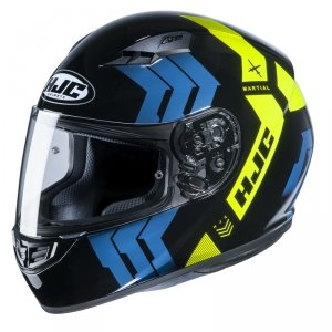 HJC KASK INTEGRALNY CS-15 MARTIAL BLACK/BLUE/YELLO