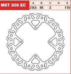 TRW LUCAS MST309EC TARCZA HAMULCOWA PRZÓD KTM SX 8